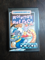 Roland\'s Rat Race de Ocean Software pour Commodore C64 128 (cassette)