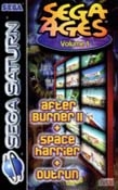 Sega Ages Volume 1: After burner 2 - Space Harrier - Out Run pour Saturn (version PAL FR complète, 1997)