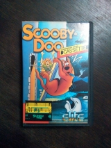 Scooby Doo pour Commodore C64 128 en version cassette (Elite 1986)