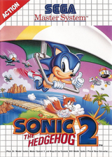 Sonic the Hedgehog 2 pour Sega Master System (cartouche)