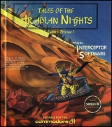 Tales of the Arabian Nighs d\'Interceptor Software pour Commodore 64 (version cassette)
