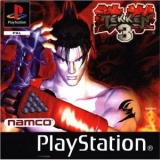 Tekken 3 de Namco pour console Sony PlayStation. Version Platinum (1998).