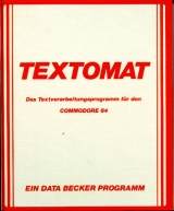 Textomat 64 de Micro Application / Data Becker. Traitement de texte accentué pour Commodore 64/128 (disquette)