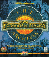 The Forgotten Realms Archive: 4 CD Collector\'s Edition, d\'Interplay pour IBM PC et compatibles (édition Collector de 12 jeux, complet et rare)