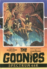The Goonies de DataSoft / US Gold pour Sinclair ZX Spectrum 48K