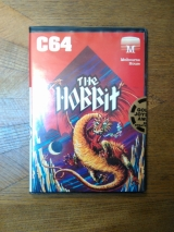 The Hobbit de Melbourne House en version disquette pour Commodore 64 / 128 (1985)