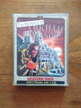 The Mystery of Arkham Manor, de Melbourne House (1987) pour Sinclair ZX Spectrum (cassette)
