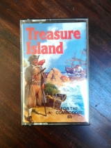 Treasure Island cassette pour Commodore 64 (aventure)