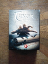 Tusker. One Man\'s Dream has become One Man\'s Destiny. Jeu d\'action-aventure de System 3 pour Commodore C64