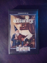 Wizardry, jeu d\'action-aventure de The Edge pour Commodore C64 128 (1985)