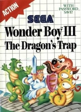 Wonder Boy III: The Dragon\'s Trap (1989) pour console SEGA Master System (complet)