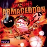 Worms Armaggedon, de Team 17 / Microprose pour Sega Dreamcast (version PAL FR complète)