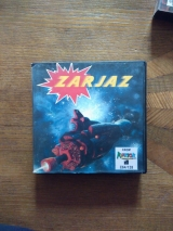Zarjaz de Reaktör Software (1986), jeu de tir en version disquette pour Commodore C64 128