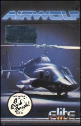 Airwolf d\'Elite (1984) pour Sinclair ZX Spectrum (cassette)
