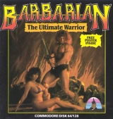 Barbarian: The Ultimate Warrior, de Palace Software pour Commodore 64/128 (cassette)