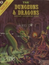 Dungeons and Dragons Basic Ruleset 8th edition (Erol Otus). TSR Inc.