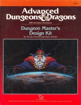 9234 Dungeon Master\'s Design Kit by Harold Johnson and Aaron Allston. TSR Inc., 1988