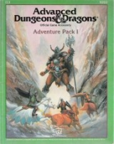 I13 Adventure Pack I. Advanced Dungeons and Dragons Official Game Accessory. TSR, Inc., 1987