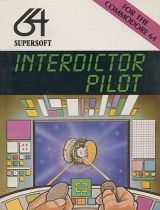 Interdictor pilot de SuperSoft (1984) pour Commodore 64 (version cassette)