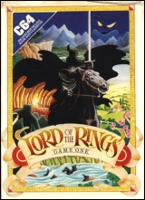 Lord of the Rings, de Melbourne House (1985) pour Commodore 64 / 128