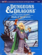 O2 Blade of Vengeance by Jim Bambra. An Adventure for One Character and Dungeon Master. TSR, Inc., 1984