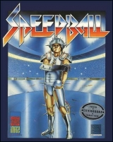 Speedball d\'Image Works (1988) pour Commodore C64 et 128 (cassette)