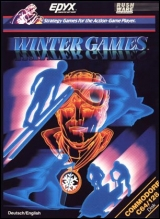 Winter Games pour Commodore 64/128 (version originale US disquette)
