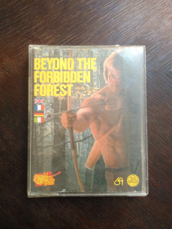 Beyond the Forbidden Forest (1985) de Cosmi Corporation pour Commodore 64 (version cassette d'US Gold)
