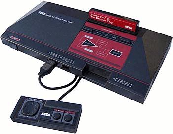 console de jeux sega master system pal nue avec c bles et contr leur vintage era. Black Bedroom Furniture Sets. Home Design Ideas