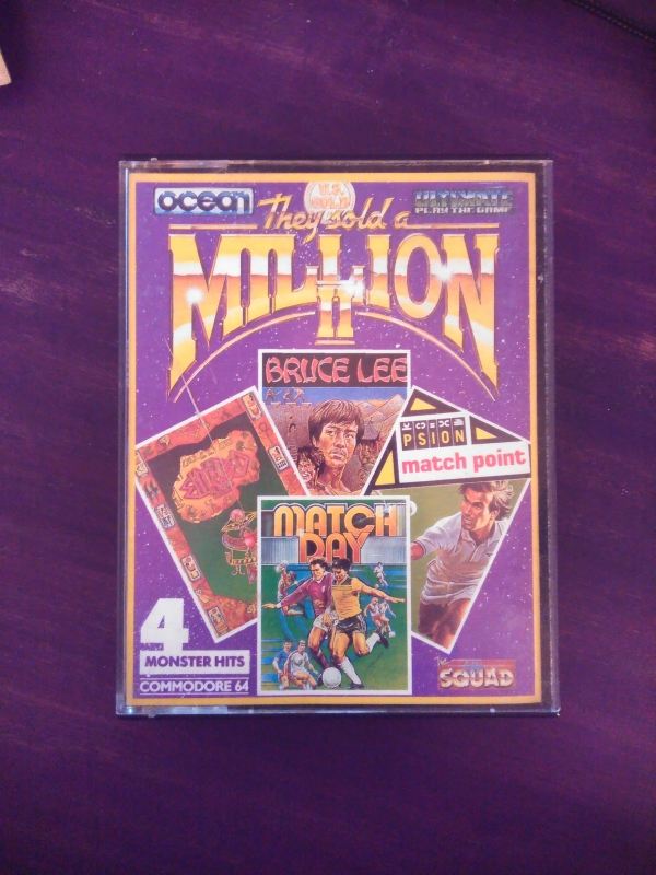 Compilation de jeux pour Commodore 64 They sold a Million II (two) 4 monster hits (double cassette)