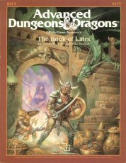 REF3 The Book of Lairs by James M. Ward and Mike Breault. Advanced Dungeons and Dragons Official Game Accessory. TSR, Inc., 1986