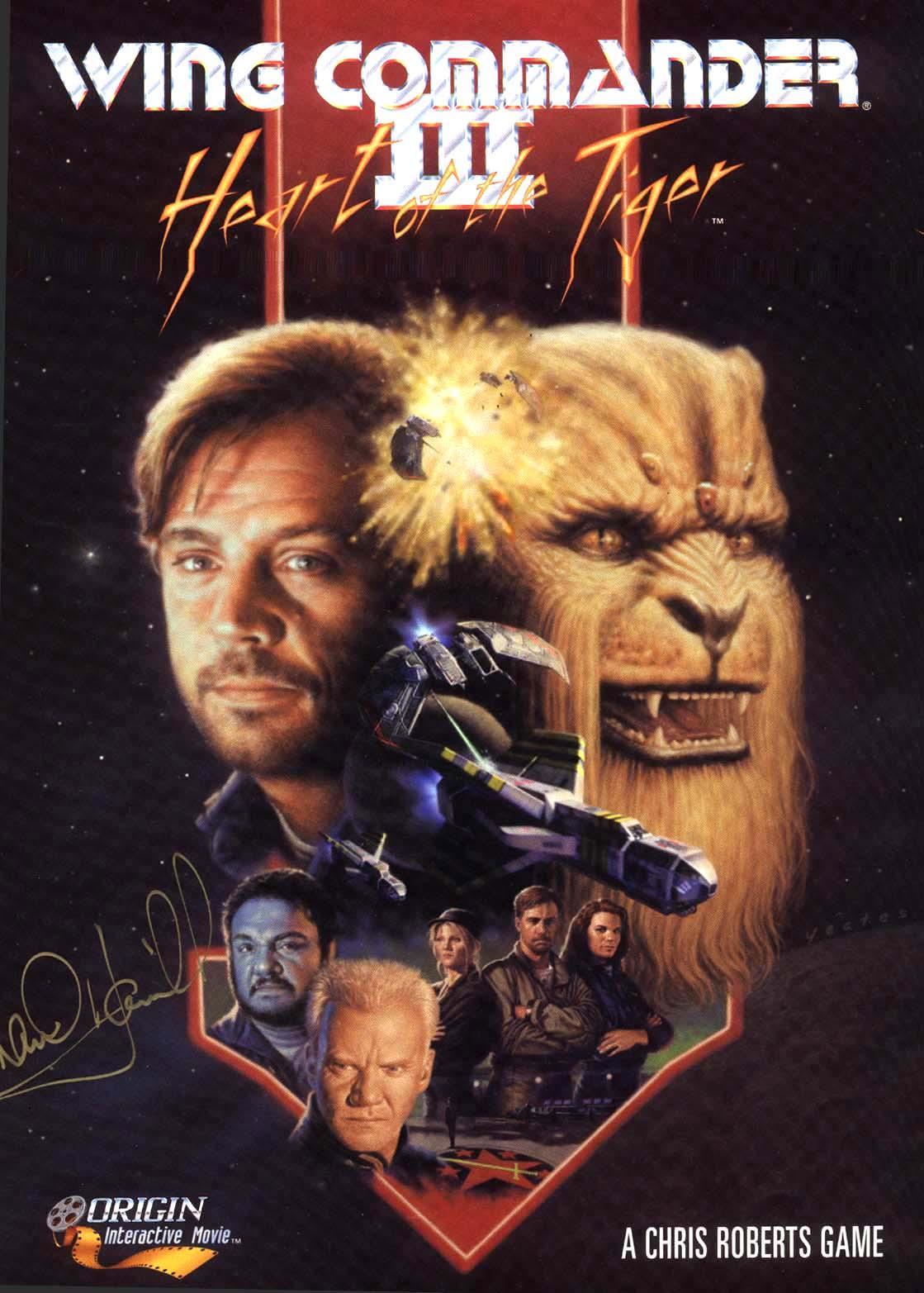 Wing Commander III, le jeu avec Luke Skywalker (1995)